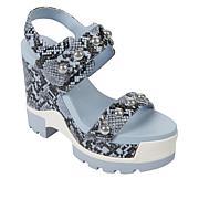 """As Is"" Jessica Simpson Baysie Studded Platform Wedge Sandal"