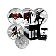 "Batman v. Superman ""Dawn of Justice"" Silver 5-Coin Set"