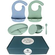 Bazzle Baby Silicone Feeding Gift Set With Gift Box