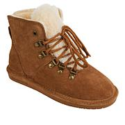 BEARPAW® Kerri Suede Lace-up Boot with NeverWet™