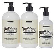 Beekman 1802 Supersize Goat Milk Hand & Body Wash Set
