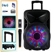 "beFree Sound 12"" Bluetooth Party Speaker w/Lights"