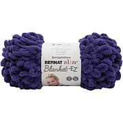 Bernat Alize Blanket-EZ Yarn - Bright Purple