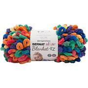 Bernat Alize Blanket-EZ Yarn - Bright Rainbow