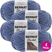 Bernat Blanket Big Ball Yarn 4-pack - Country Blue