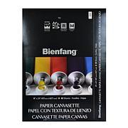"BIENFANG Canvasette Paper Canvas 18"" x 24"" Pad of 10 Sheets"