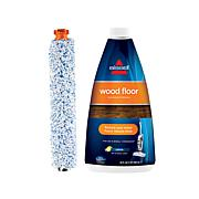 BISSELL® Wood Floor Brush Roll with Wood Floor Formula