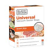 Black + Decker BD50BQ Quart-size pre-cut Vacuum Sealer Bags - 50-pack