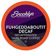 Brooklyn Beans Fuhgeddaboutit Decaf Coffee Pod for 2.0 Keurig 40-Count