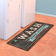 "Bungalow ""Wash, Rinse, Repeat"" Runner Mat"