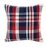 C&F Home Harbor Plaid Pillow