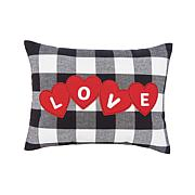C&F Home Love Hearts Franklin Pillow