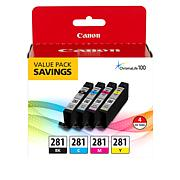 Canon Black and Color Ink Cartridges