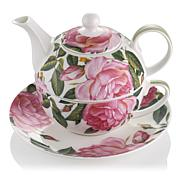 Carleton Varney Fine Bone China Rose Tea for One