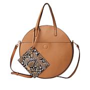 Carlos by Carlos Santana Tambourine Tote with Wristlet Pouch