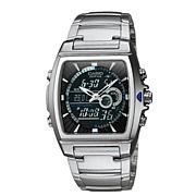 Casio™ Men Ana-Digi Edifice Thermometer Bracelet Watch