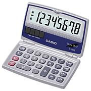 Casio Solar Calculator with Folding Hard Case