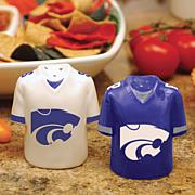 Ceramic Salt and Pepper Shakers - Kansas State Wildcats