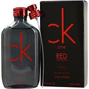 Ck One Red Edition by Calvin Klein EDT for Men 3.4 oz.