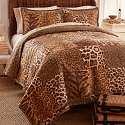 Clever Carriage Home Safari Club 3-piece Quilt Set