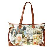 Clever Carriage Memories Leather Shopper