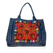 Clever Carriage  Pompom Shopper