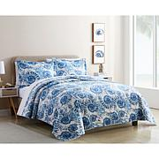 Coastal Inspired 3-piece Quilt Set