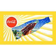"""Coca-Cola """"Sun and Rain Coke Bottle"""" Canvas Art"""