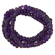 Colleen Lopez 5-piece Gemstone Bead Stretch Bracelet Set