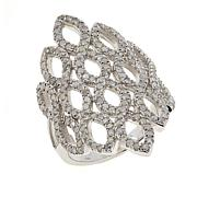 Colleen Lopez Sterling Silver .90ctw Diamond Ring
