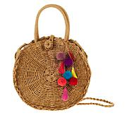 Colleen Lopez Straw Handbag