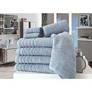 Concierge Barnum 8-piece Solid Turkish Cotton Towel Set