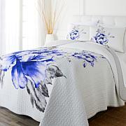 Concierge Collection 3-piece 100% Cotton Quilt Set