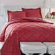 Concierge Collection Elements 3-piece Comforter Set - Solid
