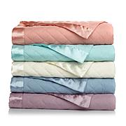 Concierge Lightweight Down Alt Blanket w/Satin Trim - T