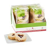 Cookies Con Amore (12) 2-count Bags Gluten Free Raspberry Linzer