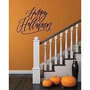 "Courtside Market Happy Halloween 30"" x 30"" Decal"