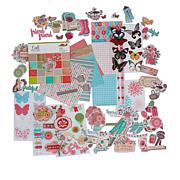 Craft Factory Creations Rosie's Garden Papercraft Kit