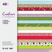 "Crafter's Companion 32-Sheet 12"" x 12"" Christmas Paper Pad"