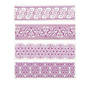 Crafter's Companion 4pc Accent Embossing Folders