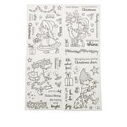 Crafter's Companion Annabel Spenceley Christmas Character Stamps