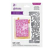 Crafter's Companion Create A Card Die Set - Butterfly & Blooms