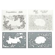 Crafter's Companion Gemini Butterfly Garden Stamp and Die Set