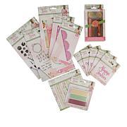 Crafter's Companion Sara Signature Garden of Love Paper & Wax Seal Kit