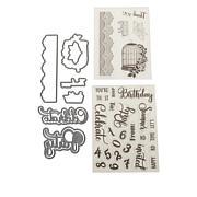 Crafter's Companion Sara Signature Garden Party Stamps & Dies Set