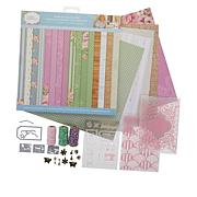 Crafter's Companion Sew Homemade Papercraft Kit