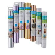 Cricut® Set of 5 Specialty Vinyl Rolls and 2 Transfer Tapes