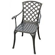 Crosley Sedona Set of 2 Cast Aluminum Arm Chairs