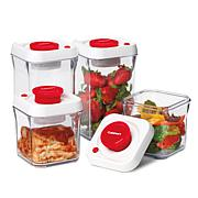 Cuisinart 8-piece Fresh Edge Vacuum Storage - Red
