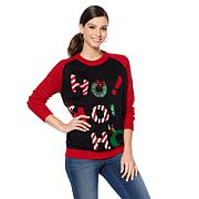 Curations Ho Ho Ho Sweater